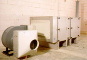 Commercial energy recovery ventilator
