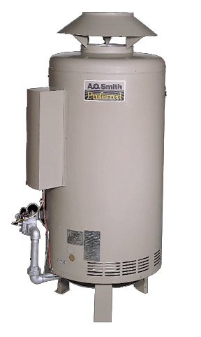 Chicago commercial water heating hot water tanks for Domestic hot water heaters